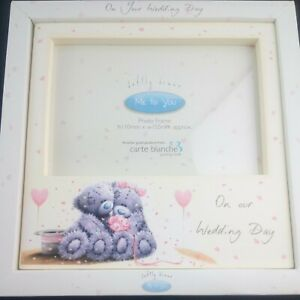 Me To You On Our Wedding Day Photograph Photo Special Frame Free UK Postage