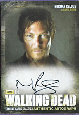 The Walking Dead A2 Daryl Dixon Norman Reedus Season 3 Auto Trading Card