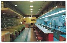 PETERBOROUGH ONTARIO interior view of Foster's Restaurant