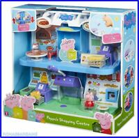 NEW Peppa Pig Peppa's Shopping Centre Playset