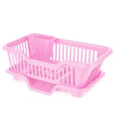 Kitchen Tray Space Saver Organizer Plastic Worktop Dish Drainer Drip Tray UK