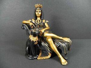 Cleopatra Bastet Égypte, 12 CM, Neuf, Figure de Collector Poly, Egypte,