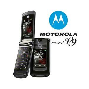 Téléphone Cellulaire Motorola RAZR2 V9 Noir 3G Appareil Photo Top Quality