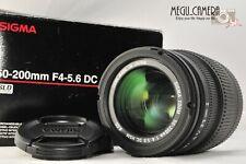 [NEAR MINT] sigma DC 50-200mm f/4-5.6 OS HSM for SONY (L201)