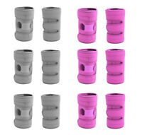 Knee Open Patella Pink & Grey Brace Injury Support Stabilising Adjustable Strap