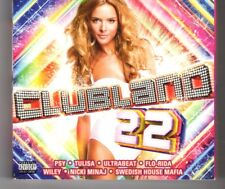 (HN269) Clubland 22, 60 tracks various artists - 2012 triple CD