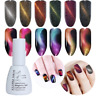 5/10ml Holographische Magnet Cat Eye Soak Off UV Gel Nagellack Chameleon Decor