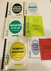 Sten Ed Theory Stenography Court Reporting Study Guides Work Books 7 in Lot