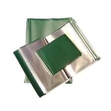 A5 NYREX (NIREX) FLOPPY ORDERS FOLDER IN GREEN WITH 20 CLEAR POCKETS