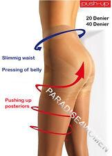 """""""Push-Up"""" Tights 20/40 Den,Shape Hips,Uplift Bottom,Pressing of Belly,ITALIAN"""