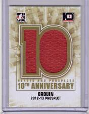 JONATHAN DROUIN 13/14 ITG H&P 10th Anniversary Tribute HUGE Game-Used Jersey #53