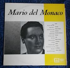 """MARIO DEL MONACO - TENORE - ARGEO QUADRI - LA VOCE DEL PADRONE EMI - LP 12"""" 33'"""
