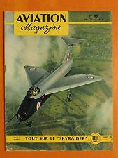 "AVIATION magazine N° 93 du 1/3/1954- Short SB-5-Tout sur le ""Skyraider"""