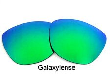 Galaxy Replacement Lenses For Oakley Frogskins Emerald Green Color Polarized