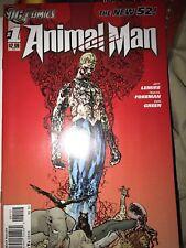 Animal Man #1 THE NEW 52! (Nov 2011, DC Comics) 2nd Printing JEFF LEMIRE