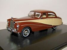 OXFORD DIECAST ROLLS ROYCE SILVER CLOUD HOOPER EMPRESS BROWN & CREAM 1/43 EMP001