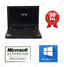 Lenovo Thinkpad Laptop T400 C2D 2.4GHz 3G 160G DVDRW 14'' W10H 64bits Warranty