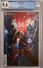 BATMAN #103 (2021) CGC 9.6 NM+ FRANCESCO MATTINA QUINN VARIANT COVER DC COMICS