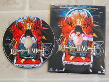 Rare Import DEATH NOTE 3 VCD Video CD Anime HTF Not dvd or soundtrack Episode L