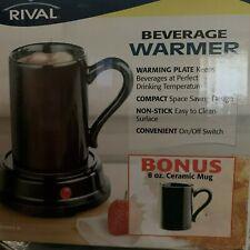 RIVAL BEVERAGE WARMER W/ MUG 8OZ