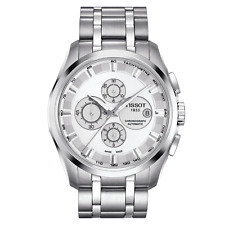 Tissot T0356271103100 Couturier Automatic COSC Men's Chronograph Silver Watch