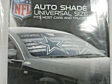 NFL Dallas Cowboys Car Window Sunshade Auto Accessory Block 99% UVA & UVB