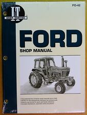 Ford Shop Service Manual for Tractor Models 5000 5600 6600 7000 7700 7710 FO-42