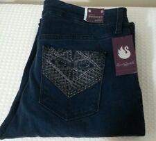 Gloria Vanderbilt Women's Bridget Diamond Mid Rise Boot Cut Jeans Sz 6 NEW 1084