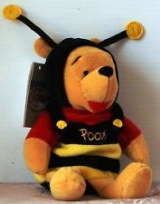 "Nwt Disney Bumble Bee Pooh Bean Bag w. tag 8"" Plush"
