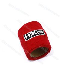 1PCS Universal Red HKS Racing Reservoir Brake Clutch Car Oil Tank Cap Sock