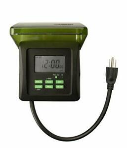 15 AMP Heavy Duty Outdoor Timer Outdoor Decorations Lighting Swimming Pool Pump*