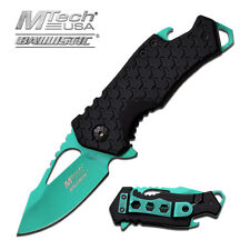 MTech Green Blade Spring Assisted Tactical Pocket Knife
