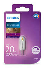 Philips LED 20W G4 Dimmable Capsule Light Bulbs A++ 200lm 12v Warm White 2700K