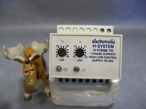 Electromatic H479166115 Current High-Low Control Relay 1 PH 115VAC