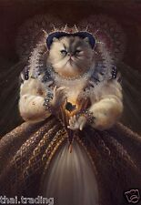 """Queen Cat With Crown Animal Photo Fridge Magnet 2""""x3"""" Collectibles"""