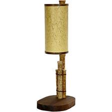 "Oriental Furniture 21"" Kobe Bamboo Pole Table Lamp"