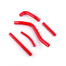 For 1999 2000 SUZUKI RM 250 RM250 99-00 Red Silicone Radiator Coolant Hoses