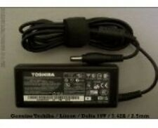 Nueva Toshiba 19 V 3.42 A N193 V85 R33030 65 W cargador con cable de alimentación