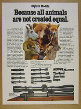1974 Weaver K Scopes 8 Models K6 on Winchester 670 photo vintage print Ad