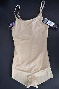 Flexees by Maidenform Nude/Beige Firm Control Shaping Romper 83055 (CHOOSE SIZE)