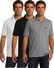 Minnesota Vikings Golf Polo Shirt - up to 6X Embroidered