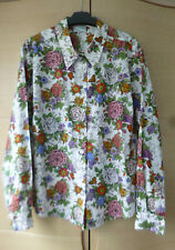 BNWOT, PRETTY, FLORAL BLOUSE BY COTSWOLD COLLECTION - 100% COTTON - UK 20