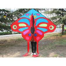 2.2m NEW RED single line Butterfly Kite power outdoor fun sports novetly Toys