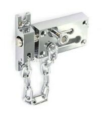 """Securit S1637 Chrome Plated Door Bolt And Security Chain 80mm / 3"""""""