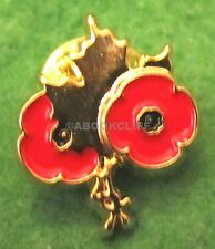 RCL VETERANS POPPIES ROYAL CANADIAN LEGION WE WILL REMEMBER Lapel Pin