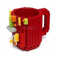 DIY Creative Lego Brick Mug Building Blocks Coffee Cup Block Puzzle Mug 350ml
