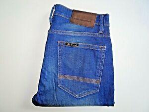 "BEN SHERMAN Mens Jeans Blue Stretch Denim Slim Fit SIZE W32 L30 Waist 32"" Leg 30"