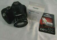 Panasonic LUMIX DMC-FZ70 16.1MP Digital Camera, W/ Samsung Memory Card