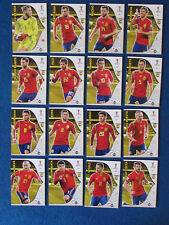 Panini Adrenalyn XL World Cup Russia 2018 - Lot of 16 - Spain