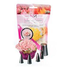 Nifty Nozzles Cupcake Bouquet Nozzle Bundle Set of 5 - Genuine Russian Nozzle